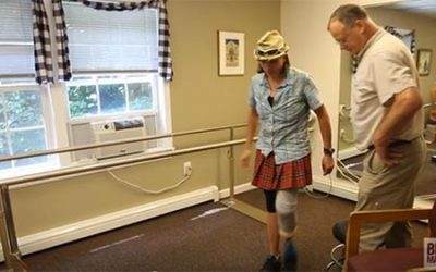 'Bionic Woman' gets leg up while hiking Appalachian Trail